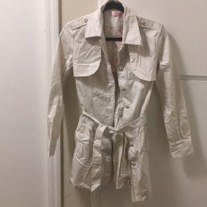 Gently worn trench coat